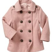 Baby Girl Peacoat Gap