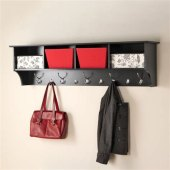Black Wall Mounted Coat Hooks