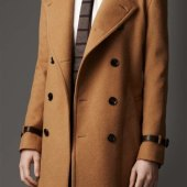 Camel Color Trench Coat Mens