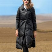 Down Trench Coat Womens