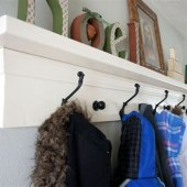 Entry Foyer Coat Rack