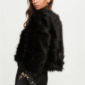 Faux Fur Coats Uk Black