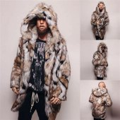 Fur Coat Pattern Mens