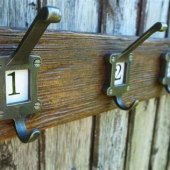 School Style Coat Racks