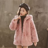 Toddler Girl Fur Coat